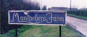 Montpeliers Farm sign